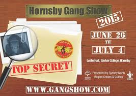 Hornsby Gang Show 2015