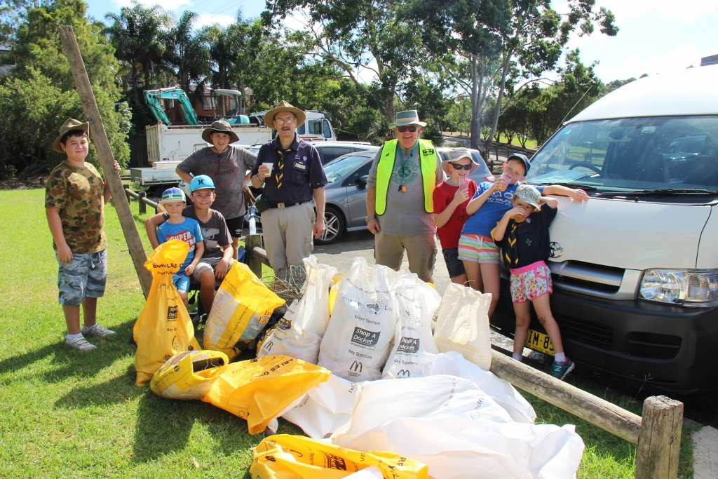 group Clean up Aust day 2016