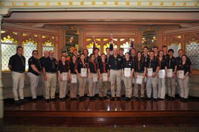 Queens and Baden Powell Scouts small